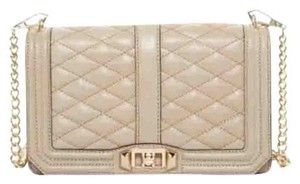 Rebecca Minkoff Quilted Love Leather Cross Body Bag