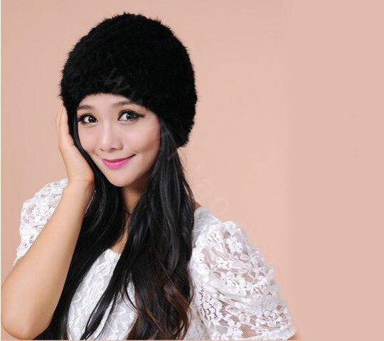 Other Knitted Mink Beanie