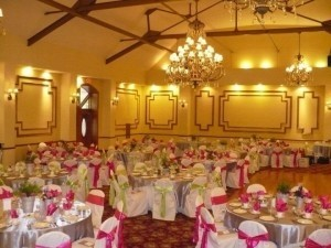 Your Chair Covers Fuchsia/Pink /Bright Satin Napkins Tableware