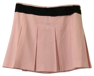 Theory Mini Skirt Light pink