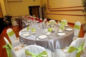 Your Chair Covers Green/Apple Green/Chartreuse / Satin Napkins Tableware