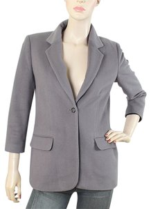 Elizabeth & James Wool Fleece Boyfriend Lavender, Purple Jacket