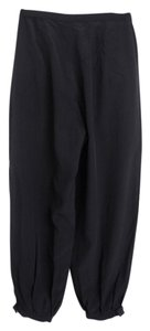 No. 6 Store Silk Relaxed Pants Black