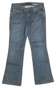 7 For All Mankind A-pocket Denim Rn# 115561 Relaxed Fit Jeans-Dark Rinse