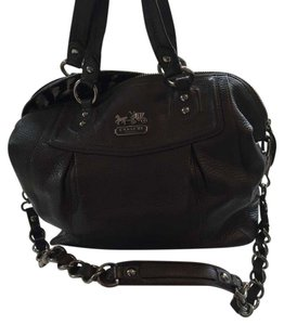 Coach Satchel in Gun Metal