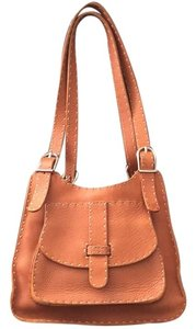 Fendi Satchel in Camel