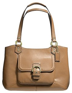 Coach Campbell Carryall Leather Belle Shoulder Bag