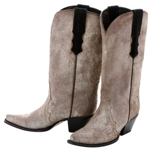 Donald J. Pliner Cowboy Distressed Suede Leather Boots