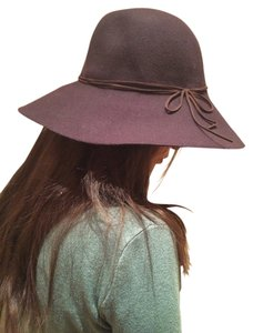 Route 66 Wool Floppy Hat with Thin Leather around