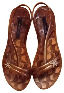 Grendha Jelly Gold Sandals