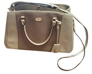 Coach Two-tone Carryall Cross Body Bag