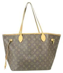 Louis Vuitton Neverfull Mm Neverfull Mm Tote in Brown monogram