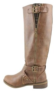 Guess G Knee High Brown Boots