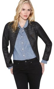 Maison Scotch Jacket Night Out Date Night Metallic Scotch & Soda Black Blazer