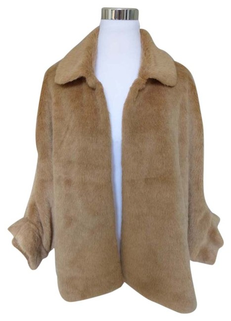 Item - Brown Faux Coat Size OS (one size)
