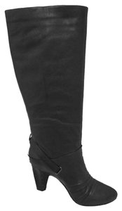 Frye Knee High Leather New Black Boots