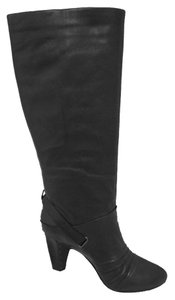 Frye Knee High Leather Black Boots
