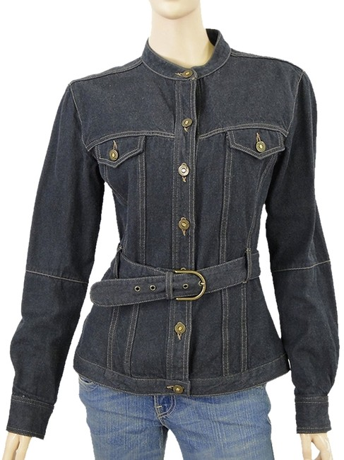 Preload https://item3.tradesy.com/images/mcq-by-alexander-mcqueen-dark-belted-denim-jacket-size-6-s-1078007-0-0.jpg?width=400&height=650