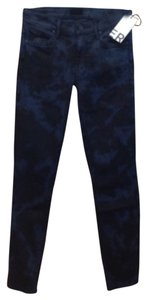 Mother Nwt Stretch Skinny Jeans-Dark Rinse