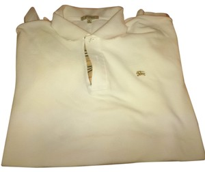 Burberry London Mens Button Down Shirt White