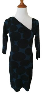 Express short dress Blue Polka Dot on Tradesy