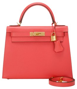 Hermès Kelly Jaipur 28cm Pink Shoulder Bag