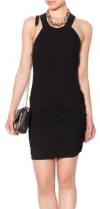 IRO Mcqueen Cocktail Lbd Gathered Dress