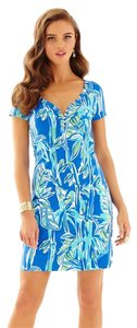 Lilly Pulitzer short dress Blue Crush Bam Boom Lilly on Tradesy