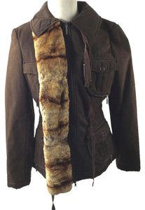 Philosophy di Alberta Ferretti Brown Jacket