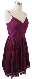 Betsey Johnson short dress Fuchsia Party Flirty on Tradesy
