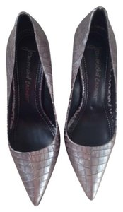 Jean-Michel Cazabat Silver grey Pumps