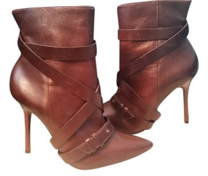 Alice + Olivia Chocolate Brown Boots
