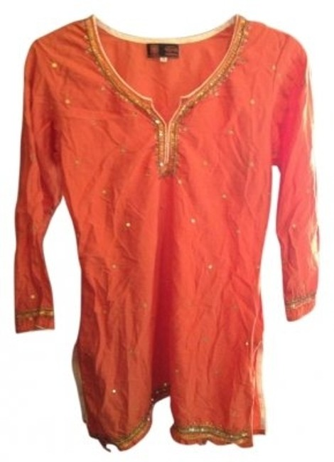 Other Sequin Half-sleeve Tunic