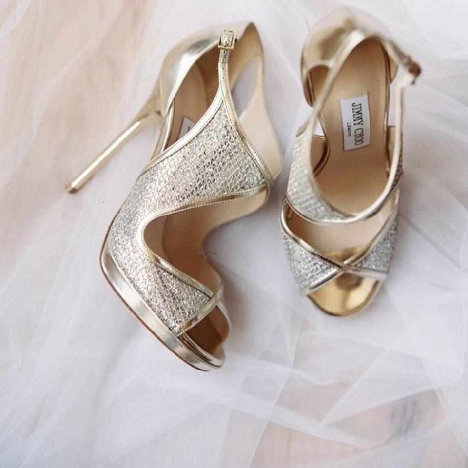If you want to purchase an extra pair of shoes for your wedding, make sure it is just as high as your original pair. You can also have a pair of heels to walk in and wedges to dance in. Should you choose the bridal gown or shoes first? As mentioned before, your wedding shoes and gown need to be harmonious.
