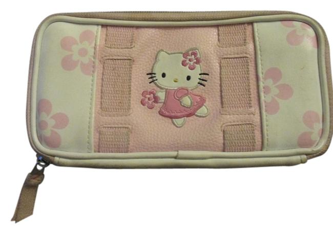Item - Sanrio White and Pink Clutch