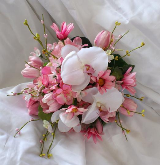 Pink and White Bouquet In Shades Of Other