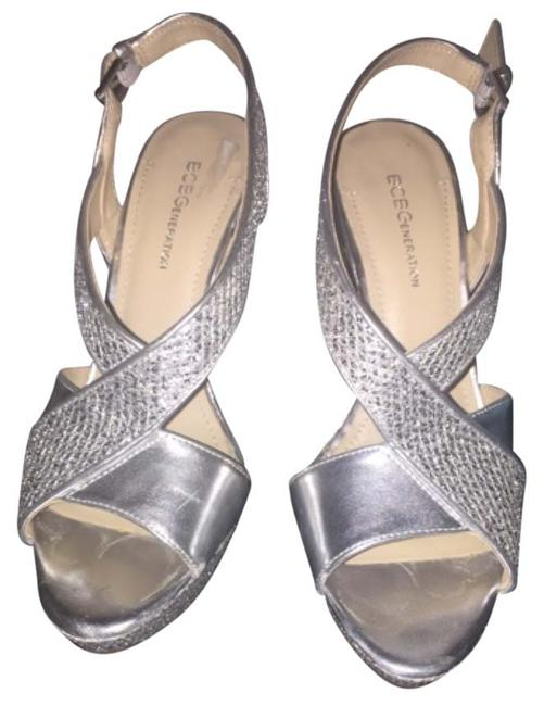 Item - Silver Bcbg Formal Shoes Size US 6 Regular (M, B)