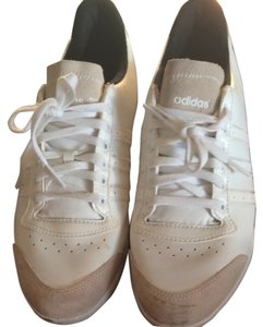 adidas White & Tan Athletic