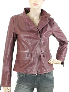 Tod's Leather Calfskin Motorcycle Jacket