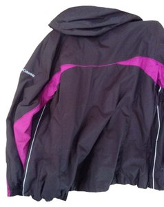 Colombia Sportswear Chocolate/white/pink Jacket