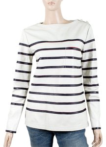 Tommy Hilfiger Striped Bold Nautical White, Blue, Gold Jacket