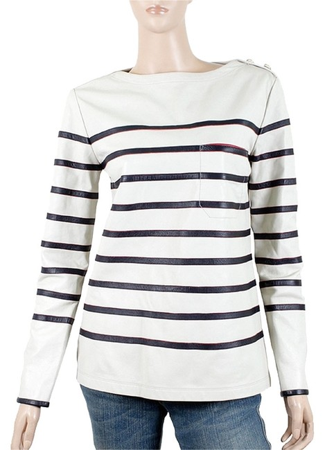 Preload https://item3.tradesy.com/images/tommy-hilfiger-striped-bold-nautical-white-blue-gold-jacket-1078307-0-0.jpg?width=400&height=650