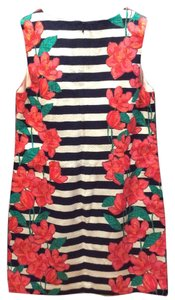 Vineyard Vines short dress Stripe and floral on Tradesy