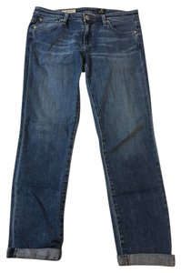 AG Adriano Goldschmied Ankle Stretchy Casual Capri/Cropped Denim-Medium Wash