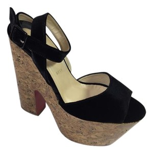 Christian Louboutin 160mm Seventies Cork Platforms