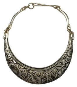 Urban Outfitters Silver tribal statement necklace