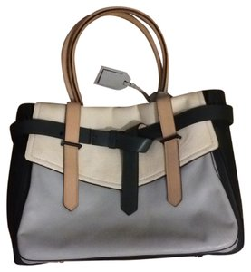 Reed Krakoff Tote in Green/Grey/Cream