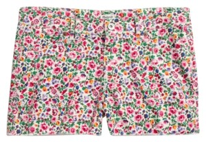 Madewell Flower Pattern Summer Cut Off Shorts Floral