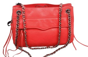 Rebecca Minkoff Convertible Swing Chain Leather Shoulder Bag