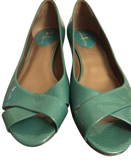 Cole Haan Teal Wedges